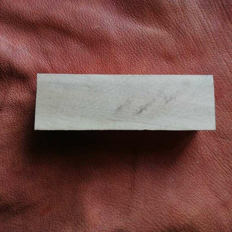 Holzkantel aus Birnenholz für Messergriff