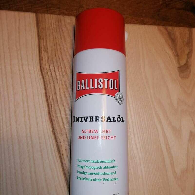 Ballistol Universalöl - Zur Pflege von Klingen, Messergriffe, Lederscheiden
