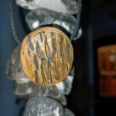 Кулон кора мамонта из слоновой кости