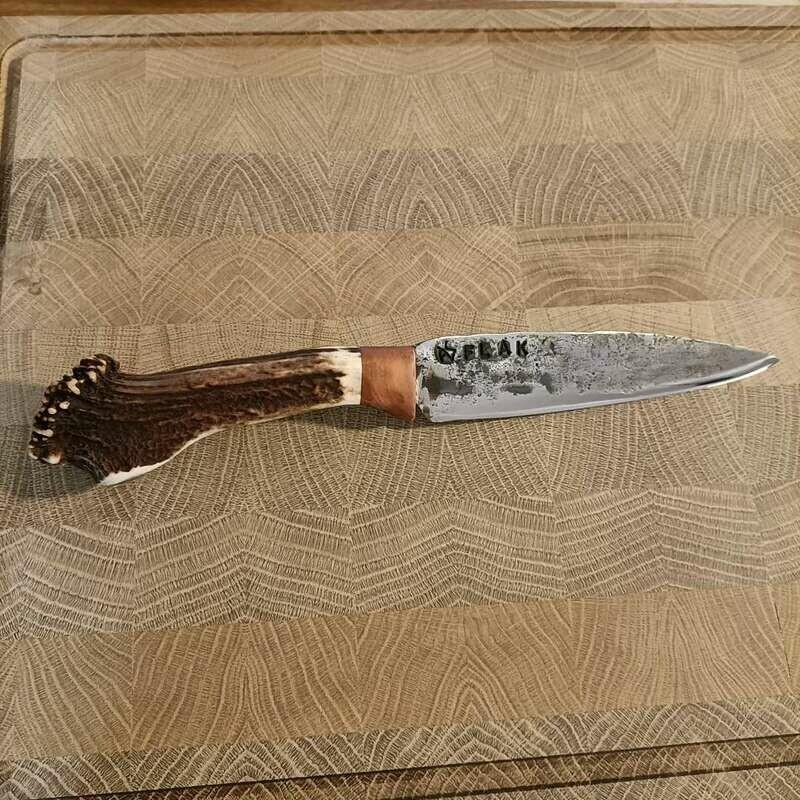 EINE ABSOLUTE RARITÄT!!! Küchenmesser aus einem Fragment des Flak 2 Geschützes aus dem 2 Weltkrieg.