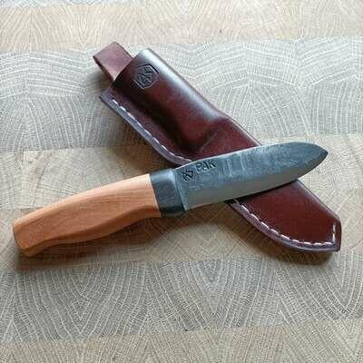 Наружный нож с лезвием из четверти противотанкового снаряда PAK 3,7 времен 2-ой мировой войны