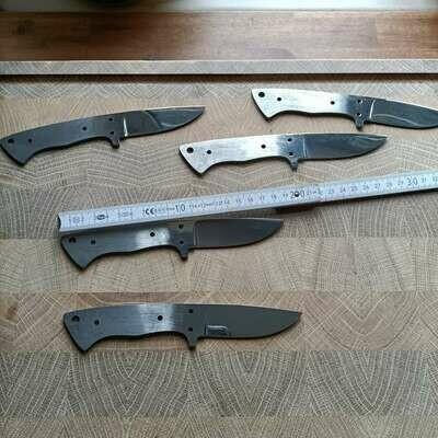 Заготовка лезвия для охотничьих/наружных ножей.