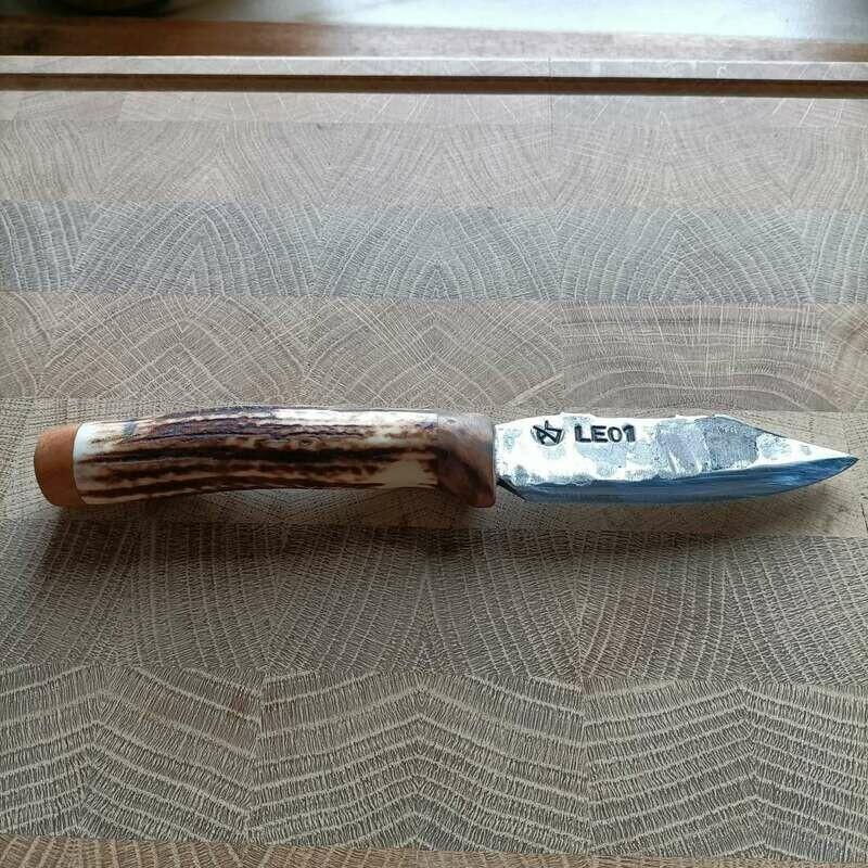 Outdoor- Messer mit Klinge aus dem 105mm Geschützrohr vom Leopard1