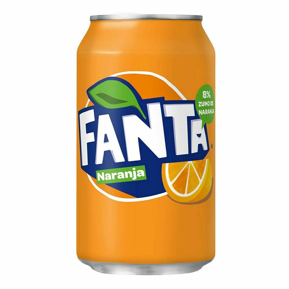 Fanta Naranja (330 ml)