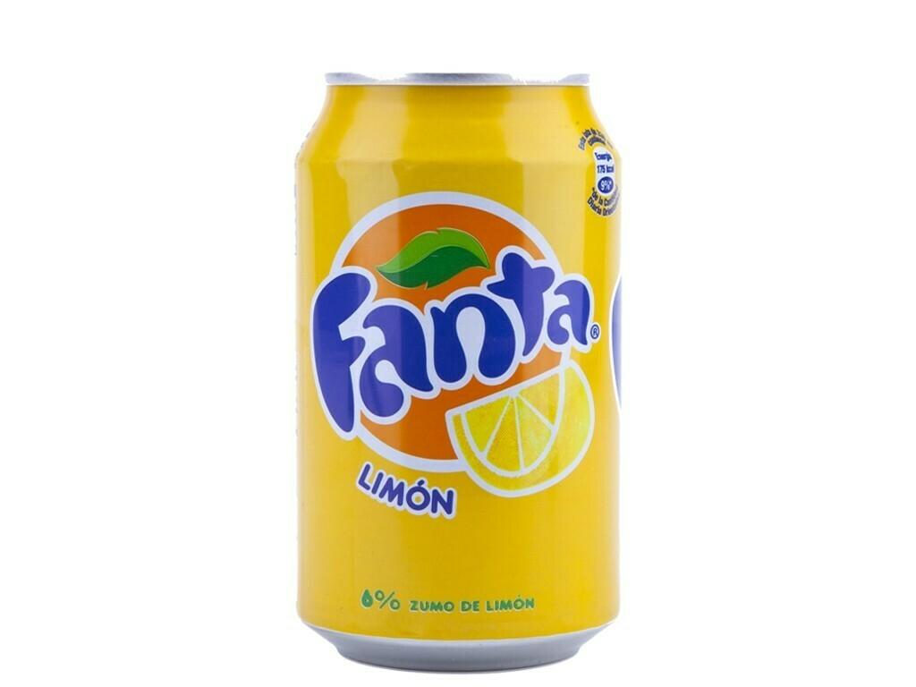 Fanta Limón (330 ml)