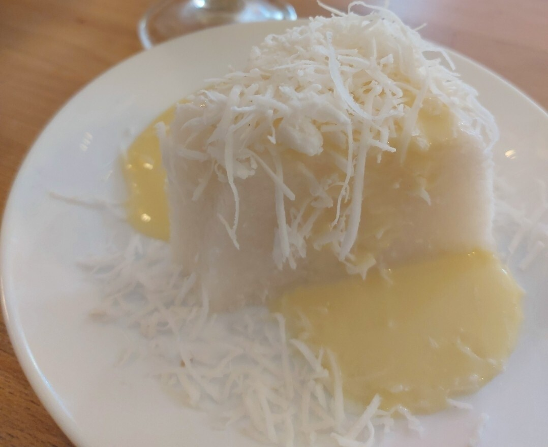 Tarta Fria de Tapioca y Coco Fresco