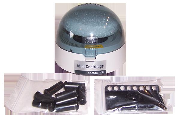 Meteor Mini Centrifuge 7,200 RPM 6-8 hole