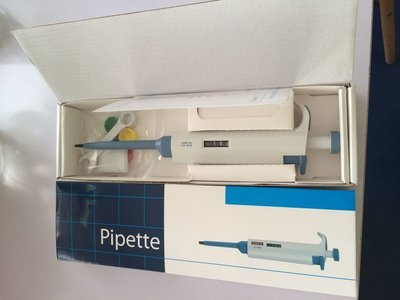 Variable Pipettes .5-10 UL + 100 tips