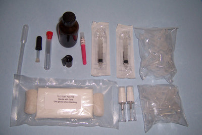 Refill Kit # 4-10 tlc plates (40-50 test)