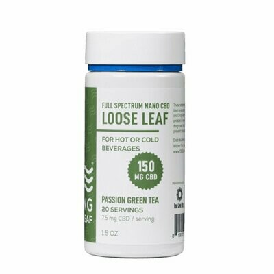 CBD Living Loose Leaf Passion Green Tea