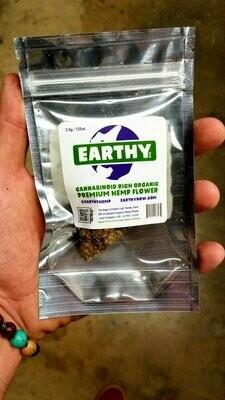 Earthy flower 3.5 grams