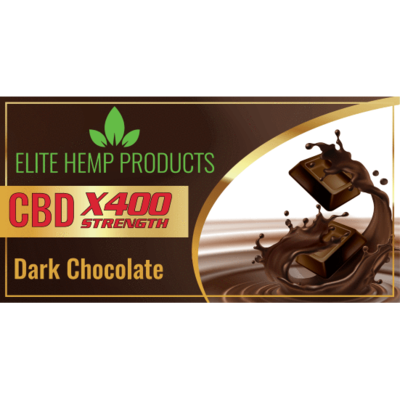 Elite CBD Chocolate 400mg Bar