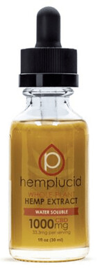 Hemplucid  1000mg  Water Soluble Tincture