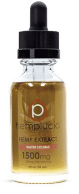 Hemplucid 1500mg  Water Soluble Tincture