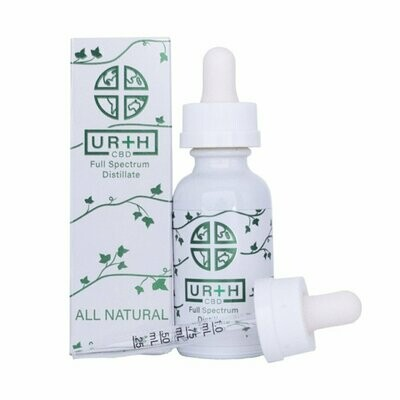 Urth Distillate Hemp Oil Tincture 1000mg