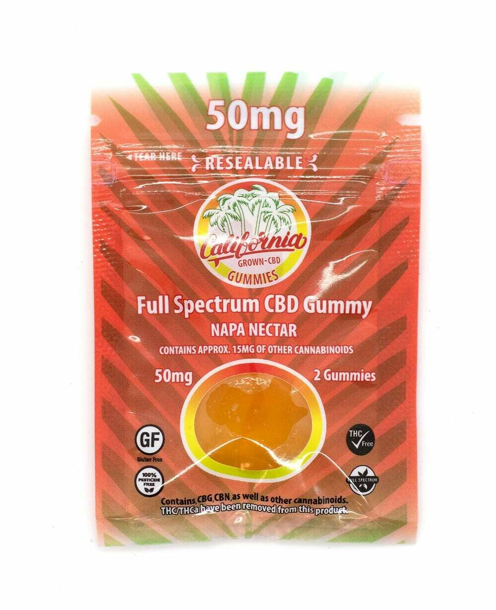 California Grown 50mg Gummies