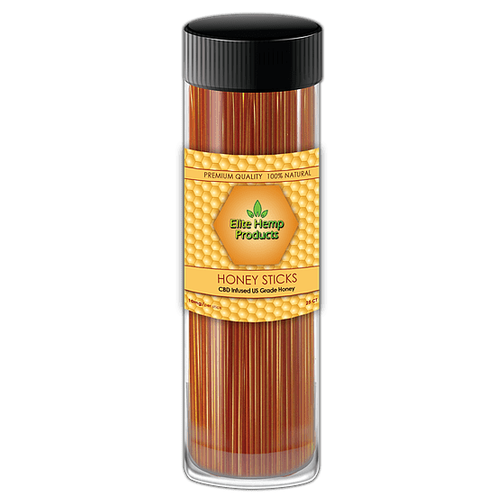 Elite CBD 250mg Honey Sticks 25ct