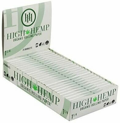High Hemp Organic Rolling Papers