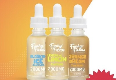 Funky Farms Tincture 2000 mg