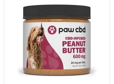 Paw CBD peanut butter 600mg