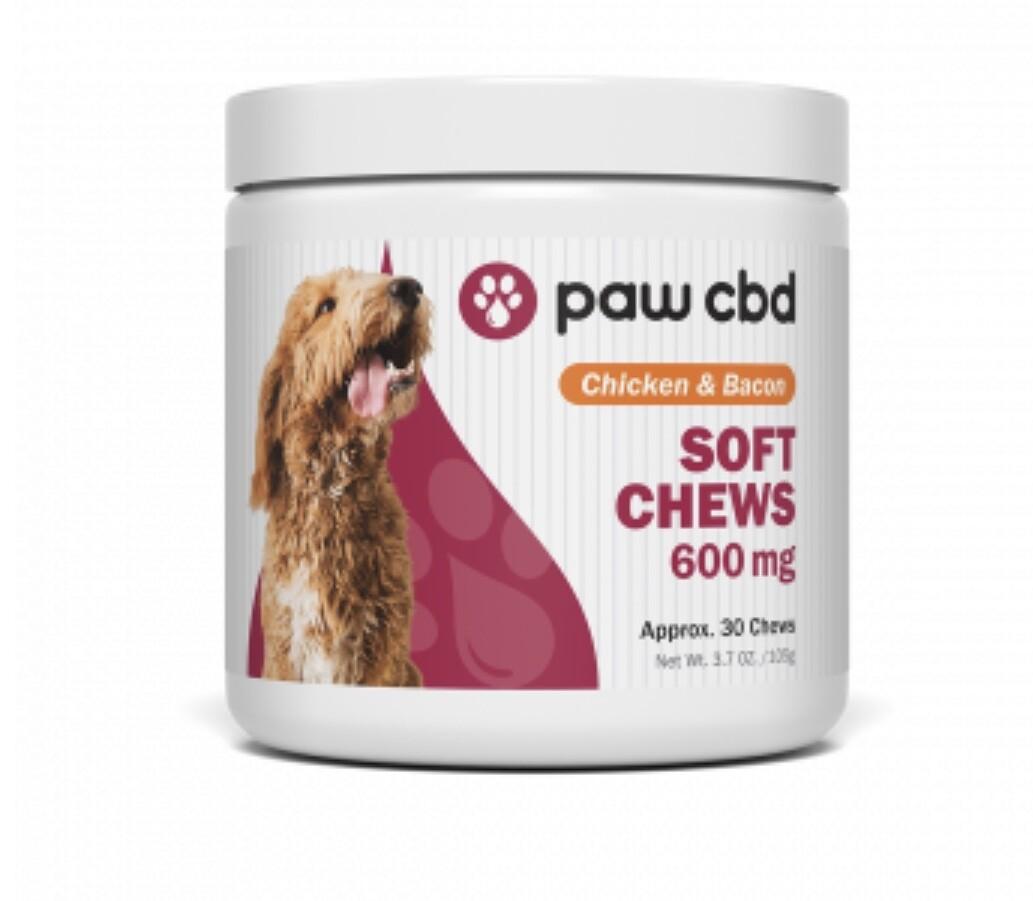 Paws soft chew 600 mg
