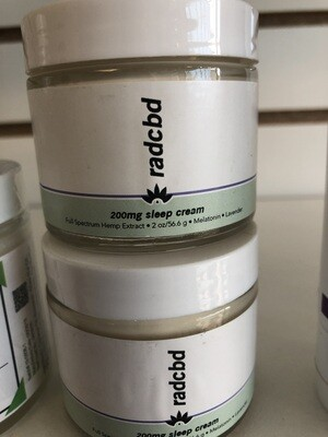 RADCBD cream sleep