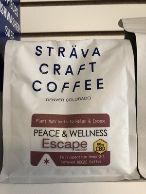 Strava Coffee Beans 12oz bag 60mg DECAF