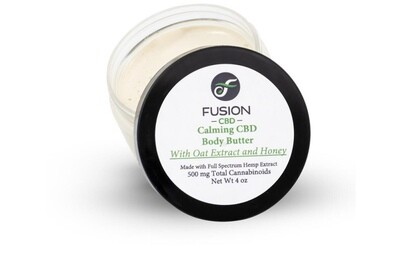 Fusion CBD Calming Body Butter 500 mg