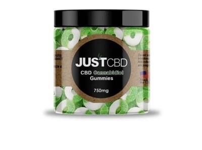 Just CBD Gummies 750 mg