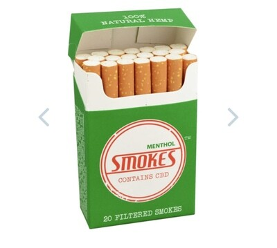 Smokes Hemp Cigs 20pk 1000mg