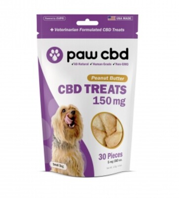 Paw CBD 150 mg Dog Treats