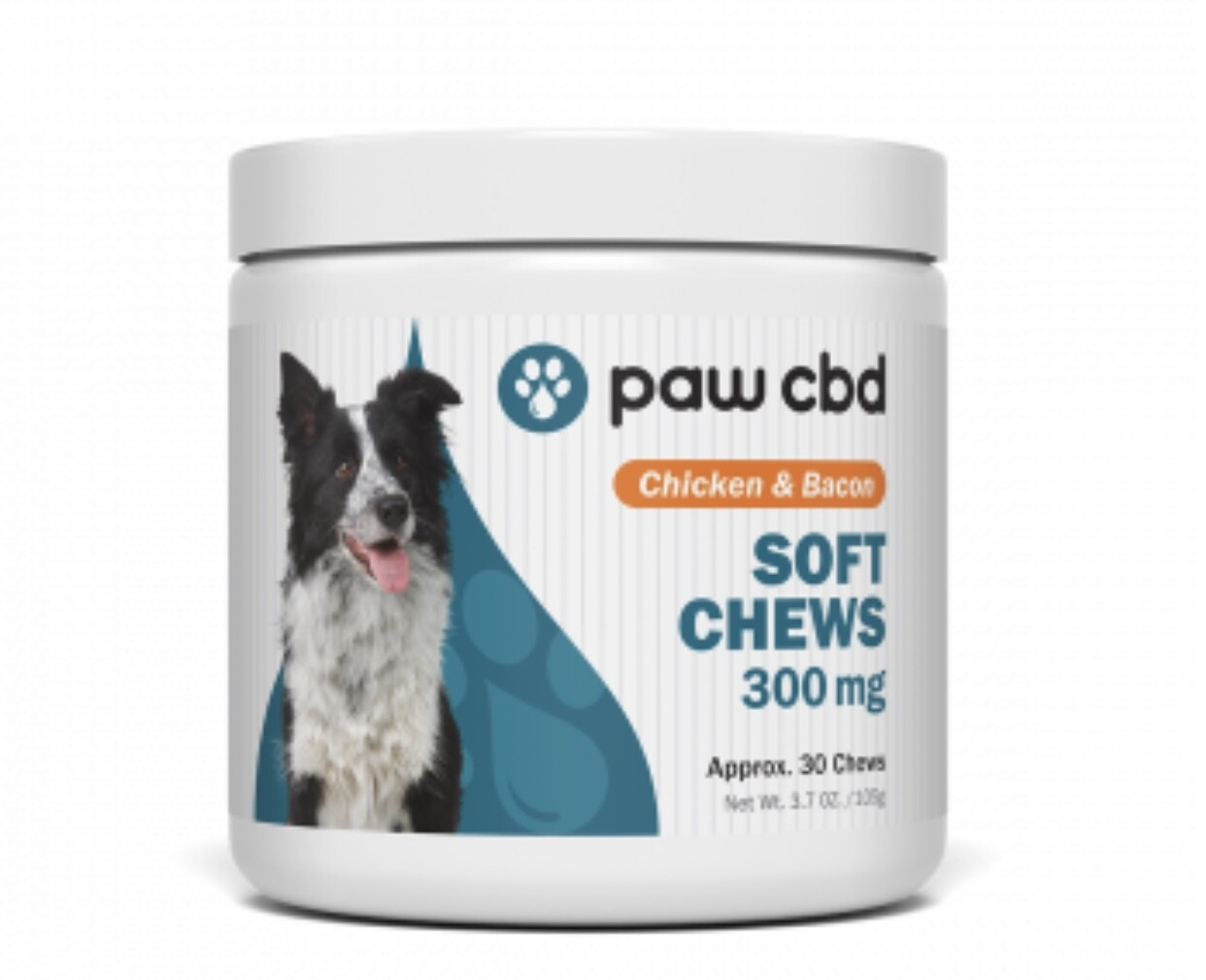 Paw CBD 300 mg Soft Chews