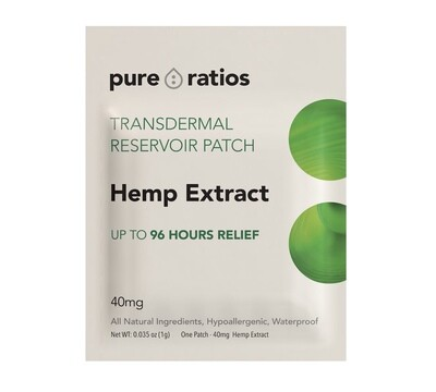 Pure Ratio CBD Patch 40mg