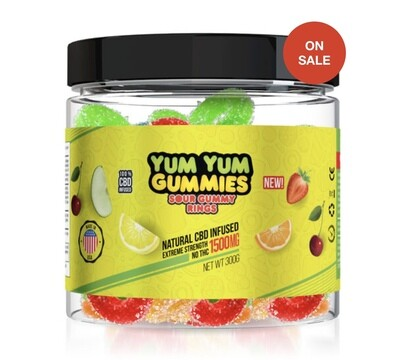 Yum Yum 1500 mg Gummies