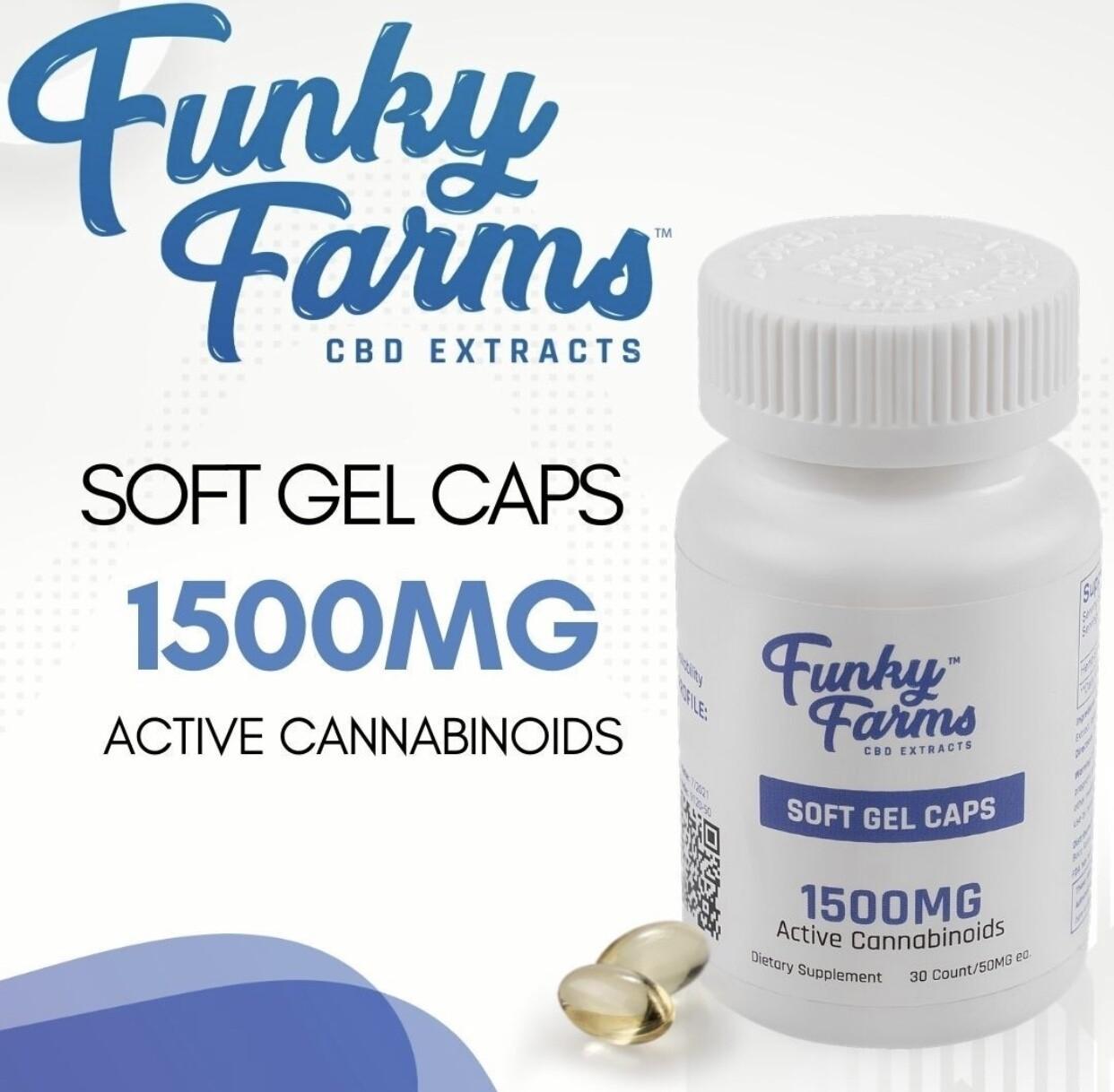 Funky Farms 1500 mg Soft Gels