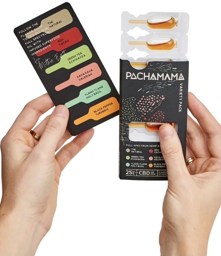 Pachamama 6ct variety tincture
