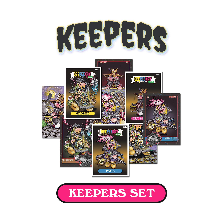Keepers Card Set