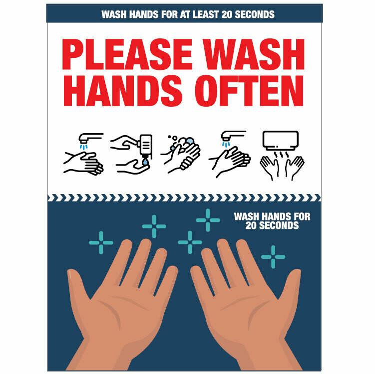 Wash Hands Often Please