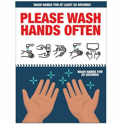 Wash Hands Often Please