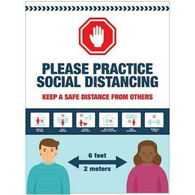 Please Practice Social Distancing