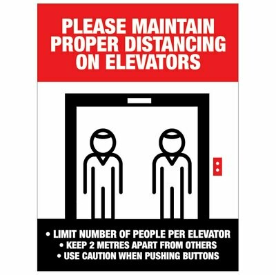Elevator Physical Distancing