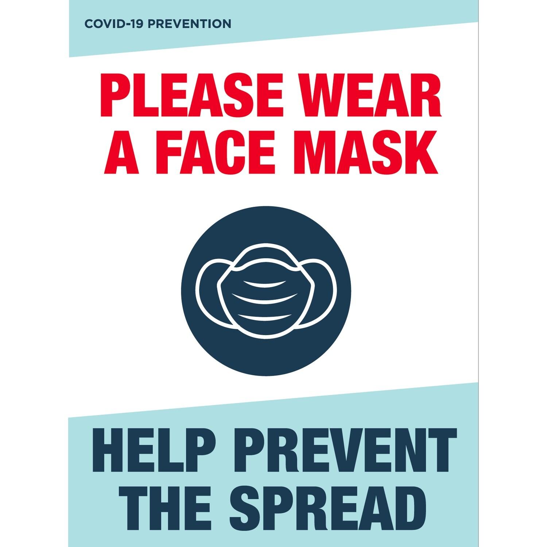 Wear Face Mask Please- Interior/Exterior