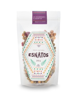 Mix tostado con arándanos - Snack natural - 200g