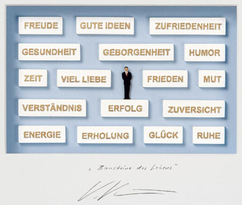 "Volker Kühn ""Bausteine des Lebens"""