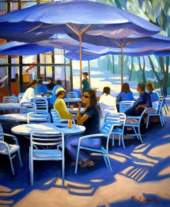 """Margaux Laboutin """" Café in Paris I """""""