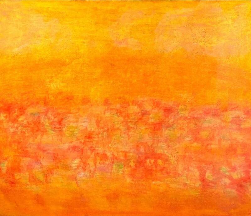 "Original Gemälde Mechthild Seck ""Sommerfeld"""