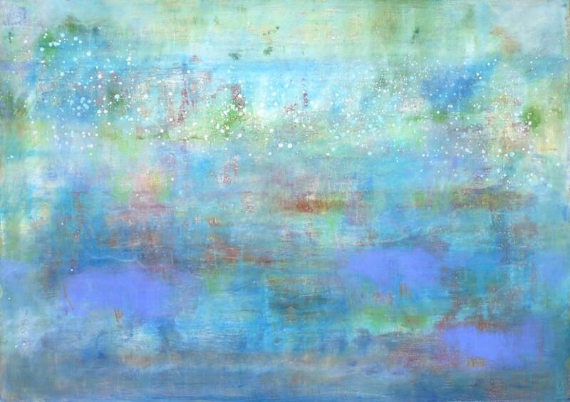 "Original Gemälde Mechthild Seck ""Wasser"""