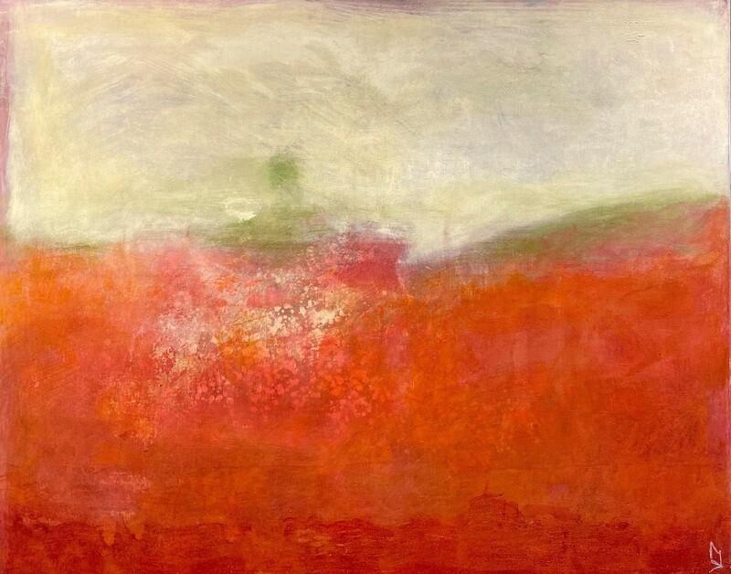 """Original Gemälde Mechthild Seck """"Hügel"""""""