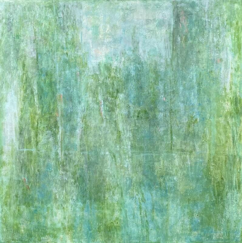 """Original Gemälde Mechthild Seck """"Feld"""""""