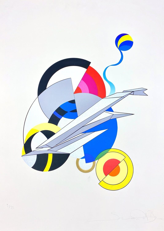 """Simon et Bruno """"Geometrische Komposition der Zeit"""""""